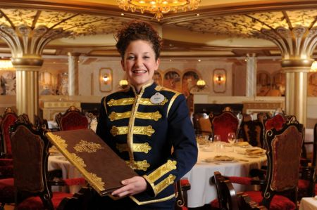 Welcome Dining Disney Cruise Line Waitress